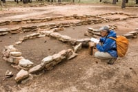 Archaeologists have found many Ancestral Puebloan sites.