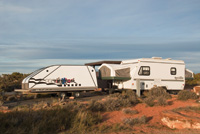 RVers can camp at Dead Horse Point State Park or a nearby BLM campground.