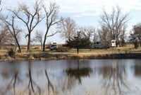Nebraska's Fort Kearney State Recreation Area includes campgrounds.