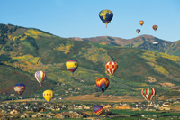 Autumn Aloft Hot Air Balloon Festival.