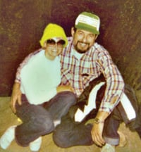 A picture of Sharlene Minshall with her husband, Jack, was one photo sure to be saved.