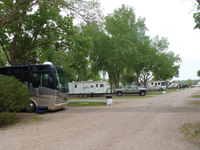 North Platte's Holiday RV Park offers 100 pull-through sites.
