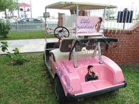 A former Army buddy of Elvis Presley runs Little Graceland in Los Fresnos, Texas.