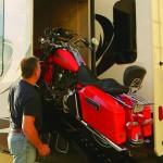 See the First Side Loading Luxury Toy Hauler in Action