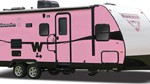 Pink Minnie Trailers Aid Cancer Research