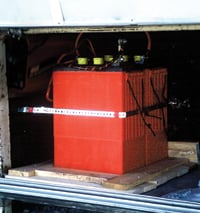 In a tight compartment, an automatic battery waterer may be needed.