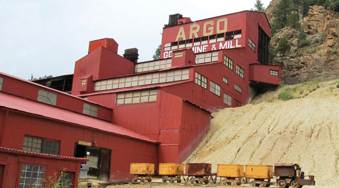 The Argo Gold Mill