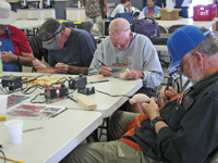 Escapees Birds of a Feather Woodcarvers gather for a weeklong work session.