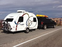 Keith and Felicia Pulaski started full-time RVing in an 18-foot trailer.