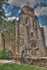 Mission Espada is one of four missions along an eight-mile trail.