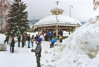 There was plenty of snow in Leavenworth this Christmas.