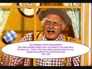 ARLINE Grandpa Jones on Hee Haw