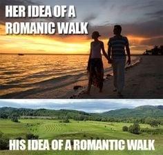 Golf-Romance Photo