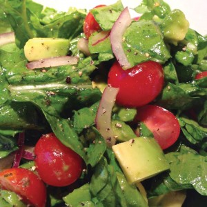 Arugula Salad with Avocado