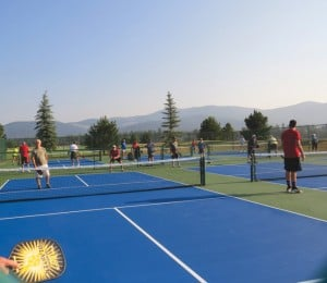 Pickleball is a complement to golf and other recreation at StoneRidge.