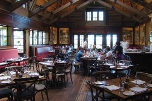 A full-service restaurant is part of the Coppola Winery.
