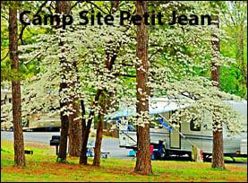 ARLINE Camp Site Petit Jean State Park