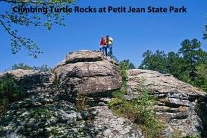 ARLINE Turtle Rocks Petit Jean State Park