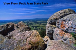ARLINE View from Petit Jean State Park