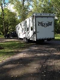 Bartlett's home on wheels