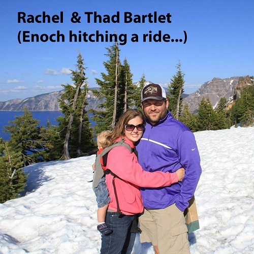 Rachel and Thad Bartlet