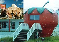 Rock Shop and Strawberry House