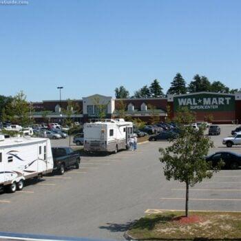 WalMart overnight RV camping