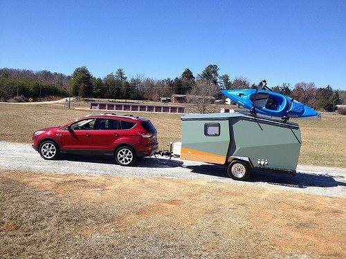 ultralight Cricket trailer