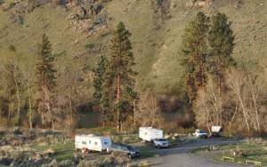 Free Camping in Eastern Washington