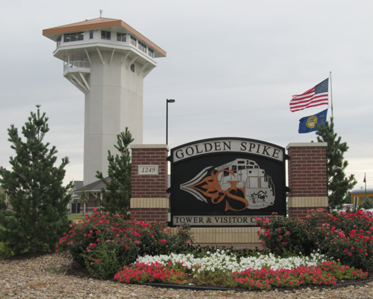 Golden Spike Tower and Visitor Center