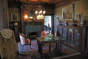 A Grand Downstairs Room in the Mansion