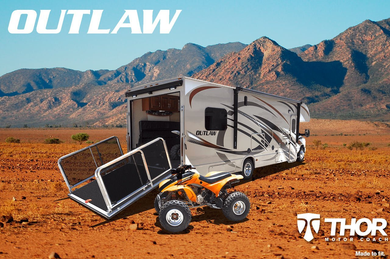 Outlaw Toy Haulers From Thor Motor Coach Continue To