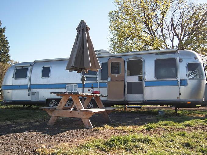 Twin Peaks trailer vintage RV Walla Walla