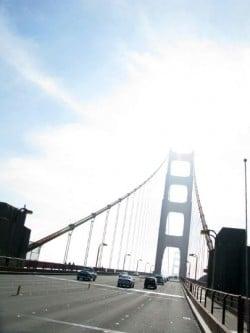 RVing over Golden Gate Bridge