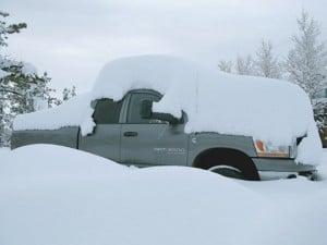 Fulltime RVing in Colorado snow