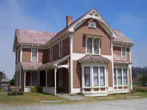 Hughes Historic House Museum located at Cape Blanco State Park