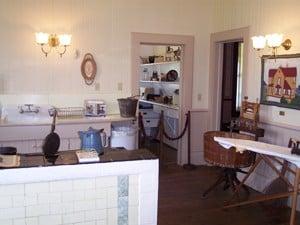 Hughes House kitchen