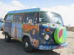 hippie vandweller