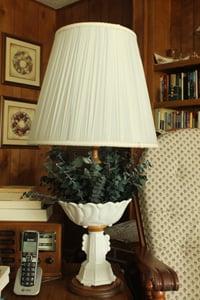 Lamp Back Beside My Favorite Chair