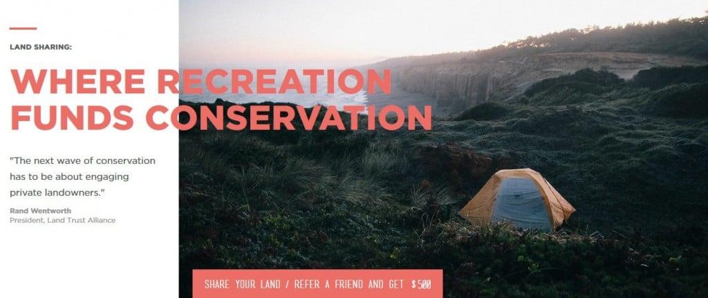 Hipcamp Land Sharing Private Camping