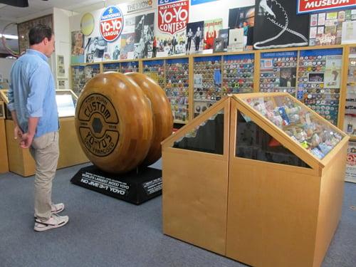 world's largest wood yo-yo