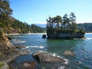 Rugged Shoreline at Salt Creek