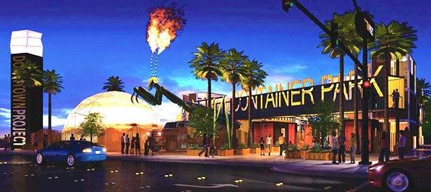 Container Park Vegas