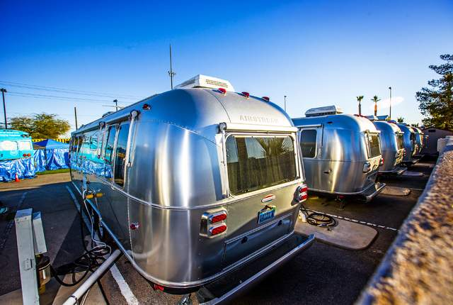Zappos Airstream Trailer Park Vegas
