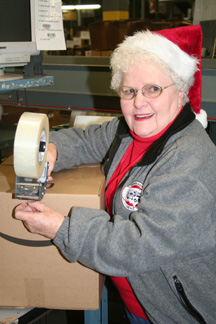 Arline Chandler working in one-item shipping at amazon.com