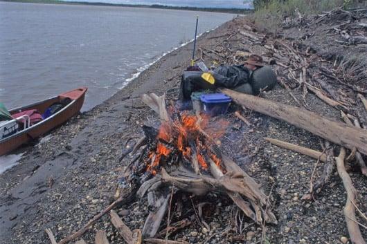 Yukon Fire at Break Time
