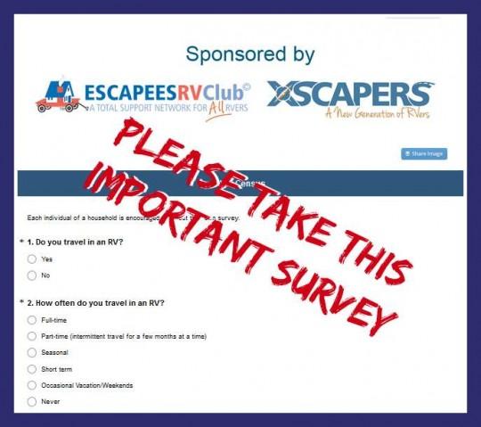 Escapees RVer census