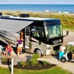 RVing on Beaches