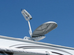 RV DataSat840 mobile satellite Internet