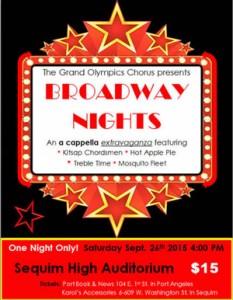 BROADWAY NIGHTS A Capella Extravaganza